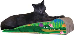 Crocodile Cat Scratcher