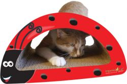 Lady Bug Cat Scratcher