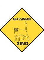 Abyssinian crossing Signs
