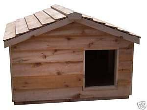 Extra Large Insulated Outdoor Cedar Cat House