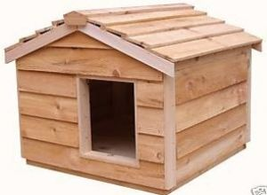 Large Insulated Outdoor Cedar Cat House