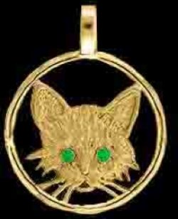 Gold kitten face medallion pendant gold cat jewelry pendants and gold kitten face medallion pendant aloadofball Gallery
