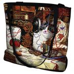 Maggie The Messmaker Cat Tote Bag