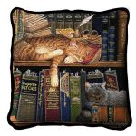 Remington The Well Read Pillow