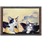 Cherub Cats Blanket