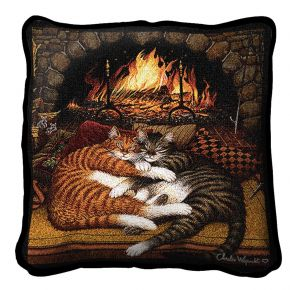 All Burned Out Pillow