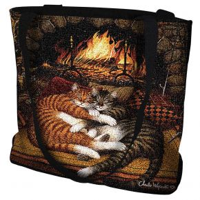 All Burned Out Cat Tote Bag