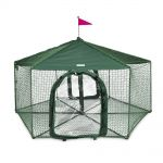Kittywalk Gazebo Yard and Garden Pet Enclosure
